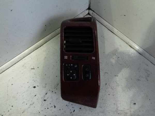MITSUBISHI SHOGUN PAJERO MK3 WOOD EFFECT DASH FASCIA PANEL & VENT MIRROR SWITCH