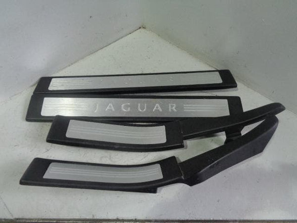 Jaguar XF Sill Kick Plate Protectors Set of 4 X250 2007 to 2015 P27010
