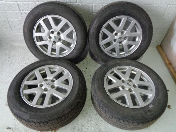 "Discovery 3 Alloy Wheels And Tyres 18"" x4 255/60R18 Land Rover (04-09) #D313128C"
