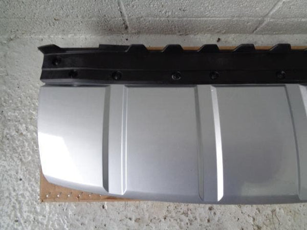 Range Rover L405 Bumper Lower Trim Tow Eye Cover Indus Silver #TLR
