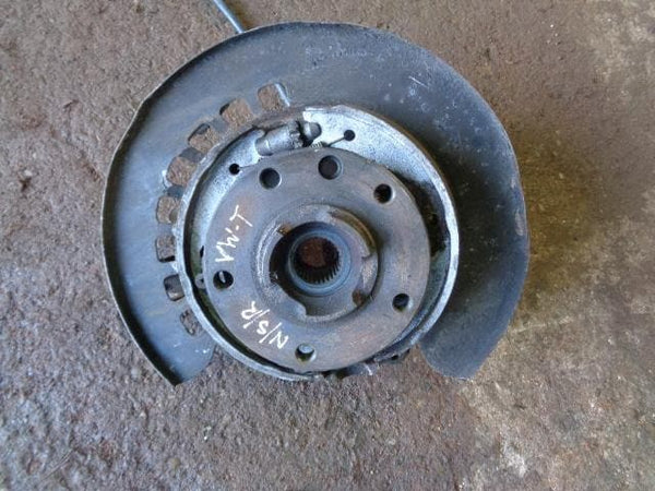 02 - 2007 VOLKSWAGEN VW TOUAREG 7L 3.0 TDI V6 NEAR SIDE REAR HUB ASSEMBLY #10108