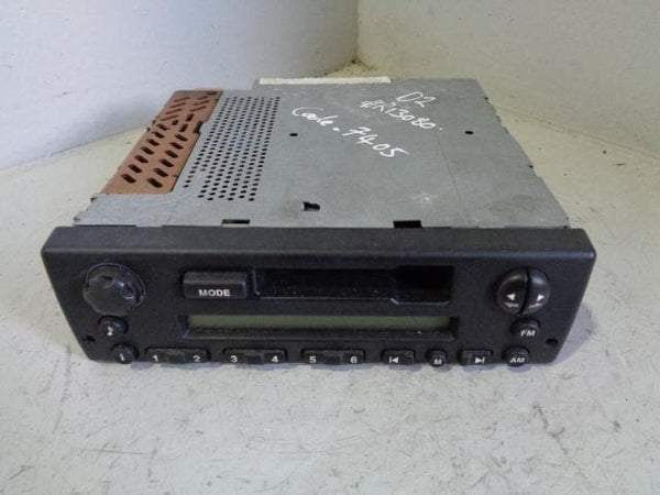 Discovery 2 Cassette Player XQD000050PMA with code 1998 to 2004 Land Rover XXX