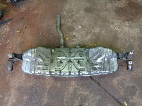 2002 - 2007 VW TOUAREG 7L 3.0 V6 TDI OE REAR SILENCER BACK BOX #12108