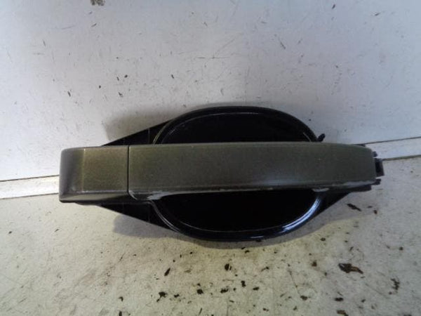 02-09 RANGE ROVER L322 NEAR SIDE REAR EXTERNAL DOOR HANDLE JAVA BLACK #1405