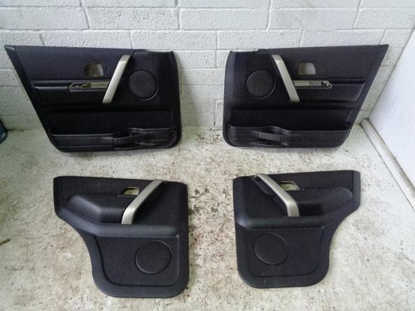Freelander 1 Door Cards Set Of 4 in Black Land Rover 2004 to 2006 P02129