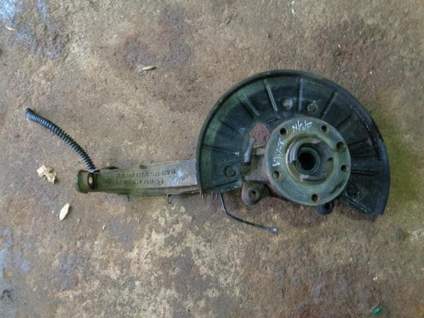 2002 - 2007 VOLKSWAGEN VW TOUAREG 7L NEAR SIDE FRONT HUB ASSEMBLY #12108