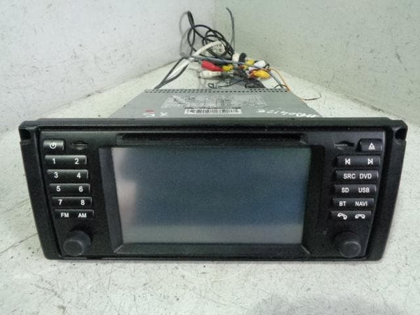BMW Sat Nav Aftermarket Standalone CD Player Radio Head Unit E39 E53