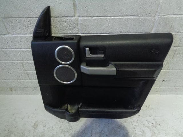 Discovery 3 Door Cards Black x4 HSE Harman Kardon Logic 7 2004 to 2009 K02010