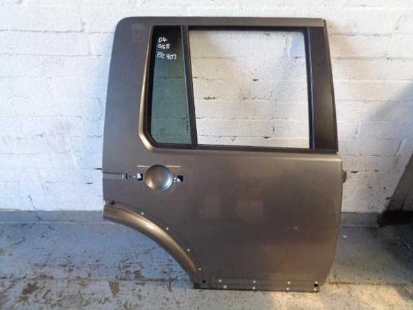 09 - 16 LAND ROVER DISCOVERY 4 OFF SIDE REAR DOOR IN STORNOWAY GREY 907 #1705