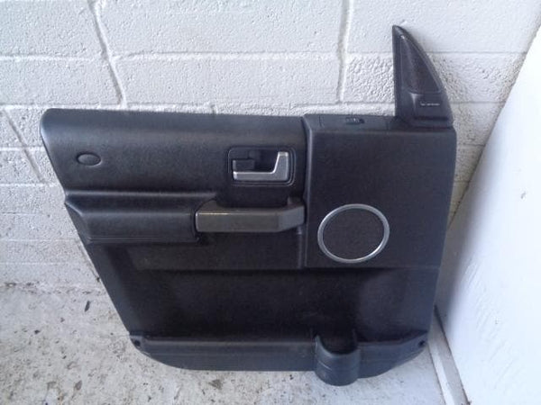 Discovery 3 Door Card Near Side Front NSF Black HSE Logic 7 2004 to 2009 K29109