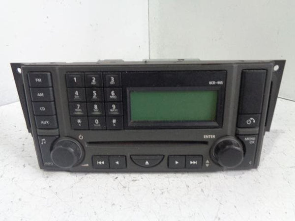 Discovery 3 Radio With CD Player HSE Land Rover VUX500320 (2004-2009) #K09039