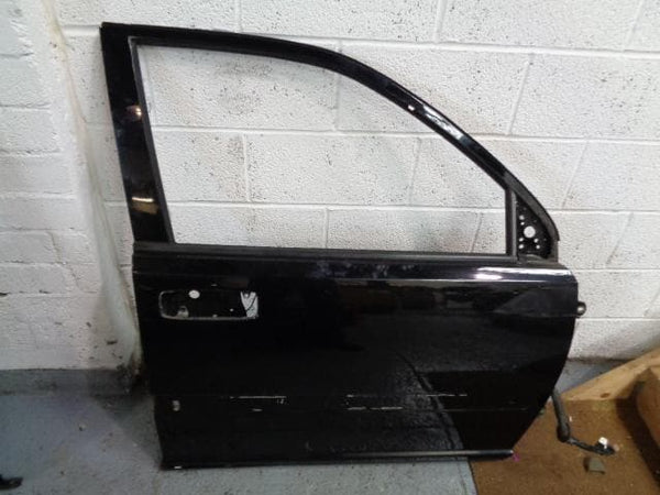 2001 - 2007 NISSAN X-TRAIL T30 OFF SIDE FRONT DOOR IN BLACK KH3-K #1808
