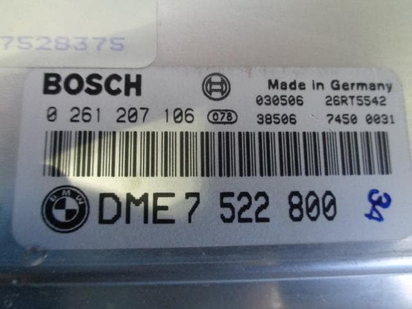 2001 - 2006 BMW X5 E53 4.4i V8 MAIN ENGINE ECU DME7522800
