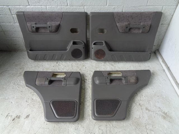 Discovery 2 Door Cards Set of x4 Grey Land Rover 1998 to 2002 P05089 XXX