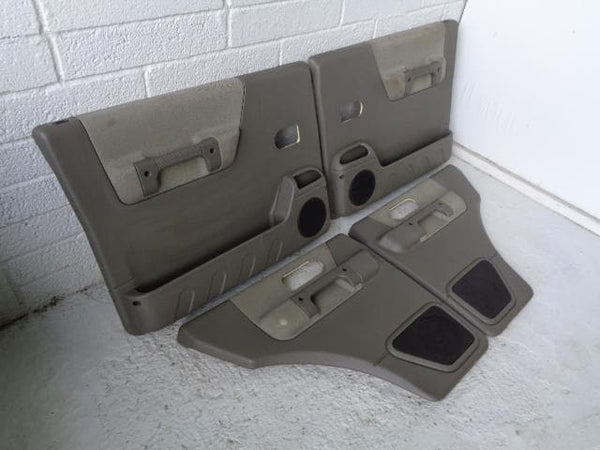 Discovery 2 Door Cards Set of 4 in Tundra 1998 to 2004 Land Rover 01100