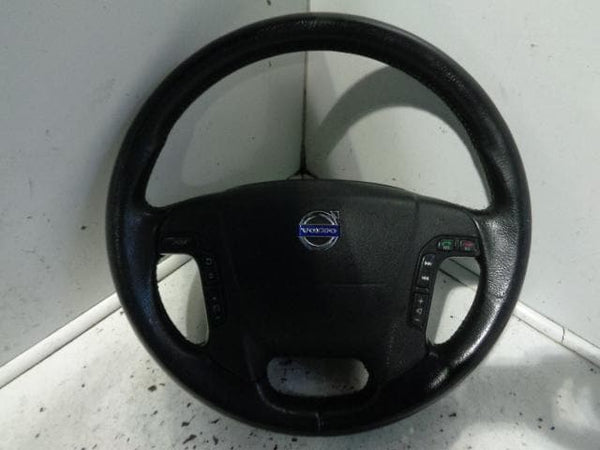 2003 - 2007 VOLVO XC70 STEERING WHEEL WITH STEREO AND PHONE CONTROLS #0401