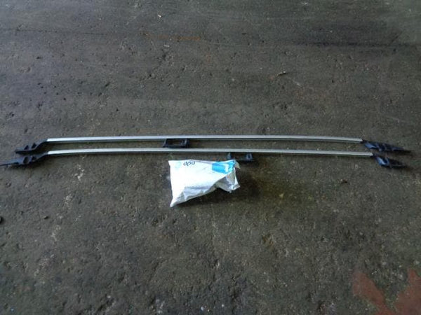 2003 - 2007 VOLVO XC70 PAIR OF GENUINE ROOF BARS WITH FITTINGS