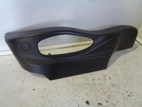 2001 - 2006 BMW X5 E53 NEAR SIDE FRONT SEAT VALANCE / TRIM IN BLACK
