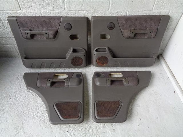 Discovery 2 Door Cards Set of x4 Grey Land Rover 1998 to 2002 XXX