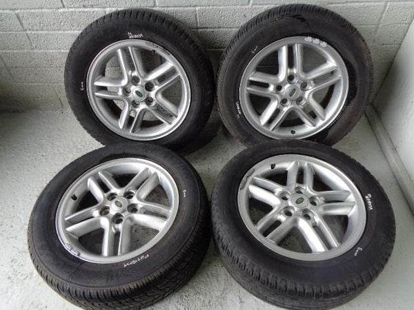 "Discovery 2 Alloy Wheels With Tyres 4x 18"" 255/55R18 Land Rover (1998-04) #P1803"