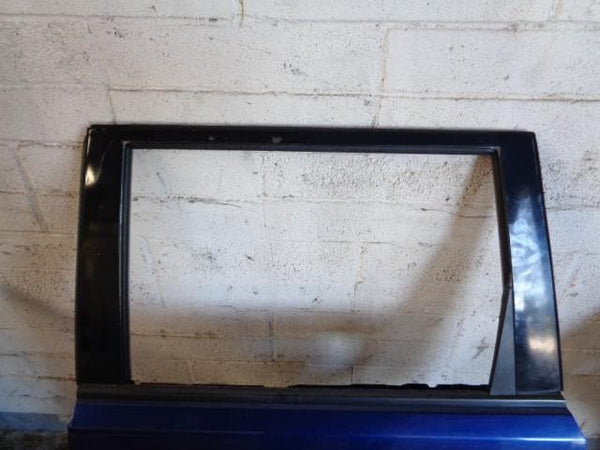2001 - 2007 NISSAN X-TRAIL T30 NEAR SIDE REAR DOOR IN DARK BLUE BW6 #2605