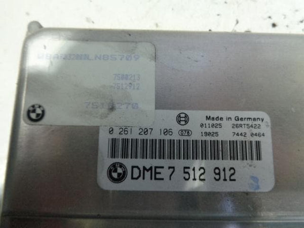 2001 - 2006 BMW X5 E53 4.4i V8 MAIN ENGINE ECU DME7512912 / 7516270
