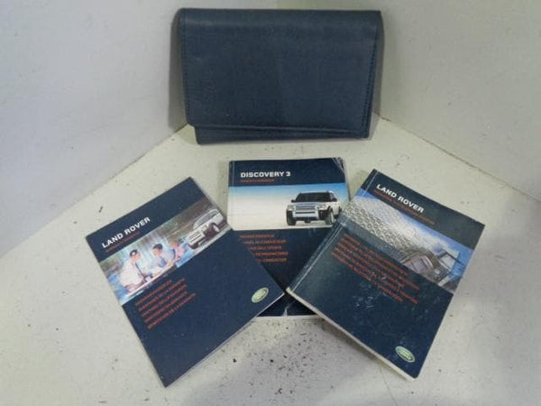 Discovery 3 Handbook User Manual in Wallet Land Rover 2004 to 2009 K03099