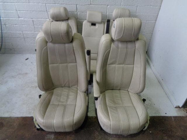 Range Rover L322 Seats Cream Leather Set Of 5 Facelift Vogue (2005-2009) #10019
