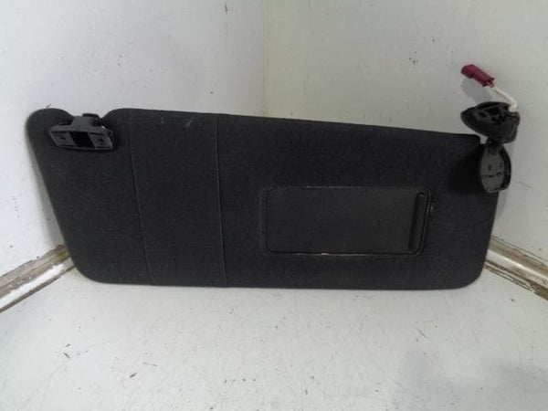 2000 - 2006 BMW X5 E53 OFF SIDE FRONT DRIVERS BLACK CLOTH SUN VISOUR