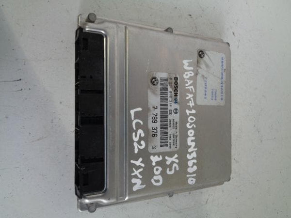 2000 - 2006 BMW X5 E53 3.0D MAIN ENGINE ECU 7789376 / 0281010314