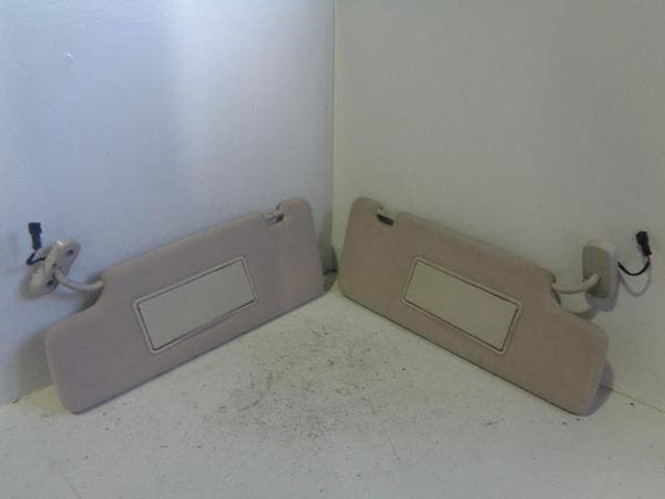 Discovery 3 Sun Visors with Illumination Pair Land Rover 2004 to 2009 K03099 XXX