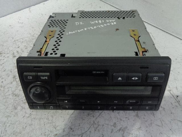 Discovery 2 Stereo Head Unit Radio Cassette Player XQD000110LNF Alpine #P18039