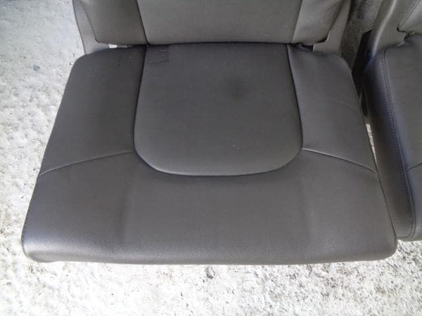 01-06 BMW X5 E53 CENTRE CONSOLE WITH BLACK LEATHER ARM REST SILVER TRIM TV & AV