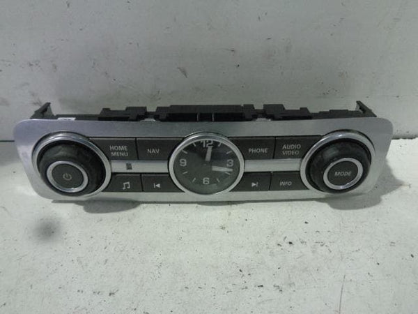 Range Rover Sport Radio Stereo Control Panel and Clock L320 2009 - 2012 #31108