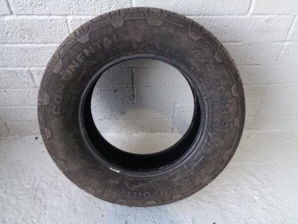 Continental Part Worn Tyre 235/70R17 4mm Tread 235 70 17 #K15019D