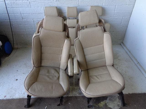 Discovery 2 Seats Set Of 5 Leather Electric Land Rover (1998-2004) #P18039
