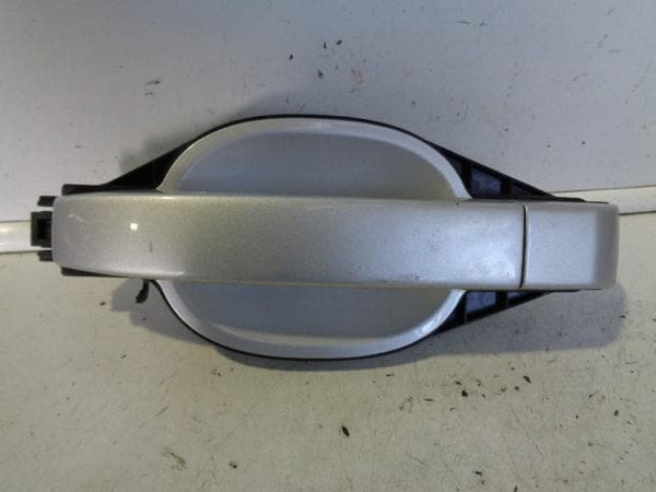 RANGE ROVER L322 NEAR SIDE FRONT EXTERNAL DOOR HANDLE ZAMBESI SILVER 737