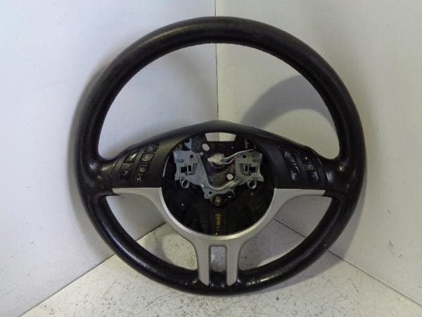 BMW X5 Steering Wheel Black Leather Multi-function E53 (2001-2006) #B21 XXX
