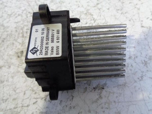 BMW X5 Heater Blower Resistor Fan Hedgehog 6 931 680 (2001-2006) #B21039