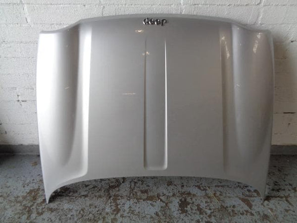 2001 - 2008 JEEP CHEROKEE KJ BONNET IN BRIGHT SILVER METALLIC #2607