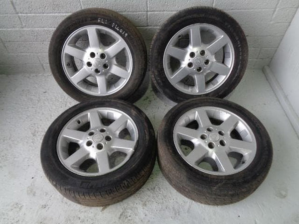 "Freelander 1 Alloy Wheels And Tyres 17"" x4 225/55R17 Land Rover P14019 XXX"