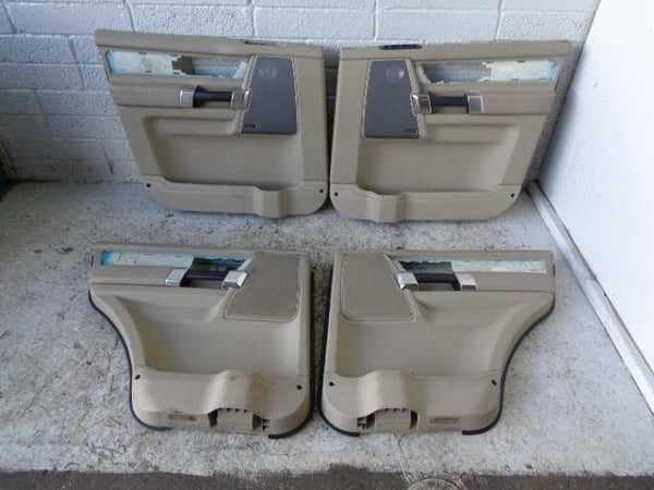 Discovery 4 Door Cards in Almond x4 Harman Kardon 2009 to 2012 K08109