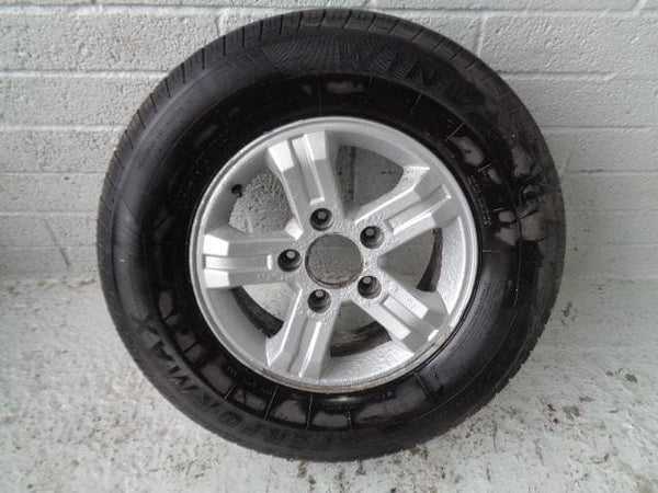 "Kia Sorento Alloy Wheel And Tyre 16"" Single 245/70R16 (2002-2009) #24019A"