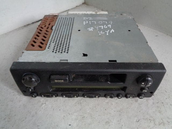 Discovery 2 Cassette Player XQD000050PMA with code 1998 to 2004 Land Rover