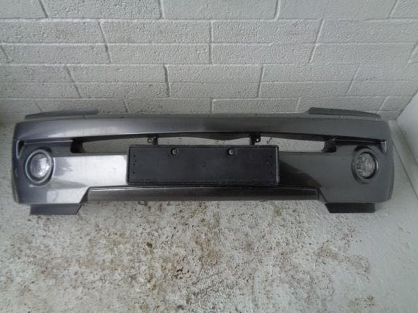 Kia Sorento Front Bumper in Grey With Fog Light (2002-2006) Mk1 #B17019
