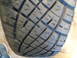"02 - 09 RANGE ROVER L322 SET OF 5X 19"" ALLOY WHEELS AND TYRES 255/55R19 #3407"