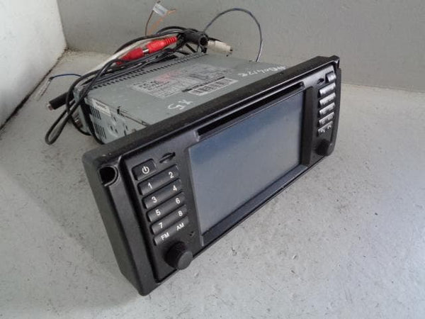 BMW Sat Nav Aftermarket Standalone CD Player Radio Head Unit E39 E53 XXX