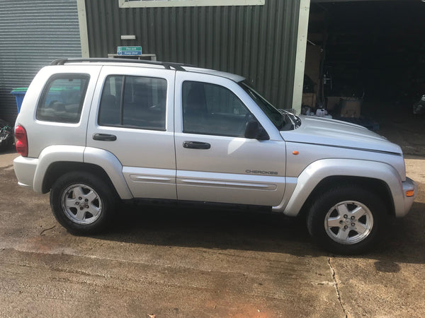 CURRENTLY BREAKING... 2004 JEEP CHEROKEE LIMITED CRD A - 2.8L DIESEL AUTO
