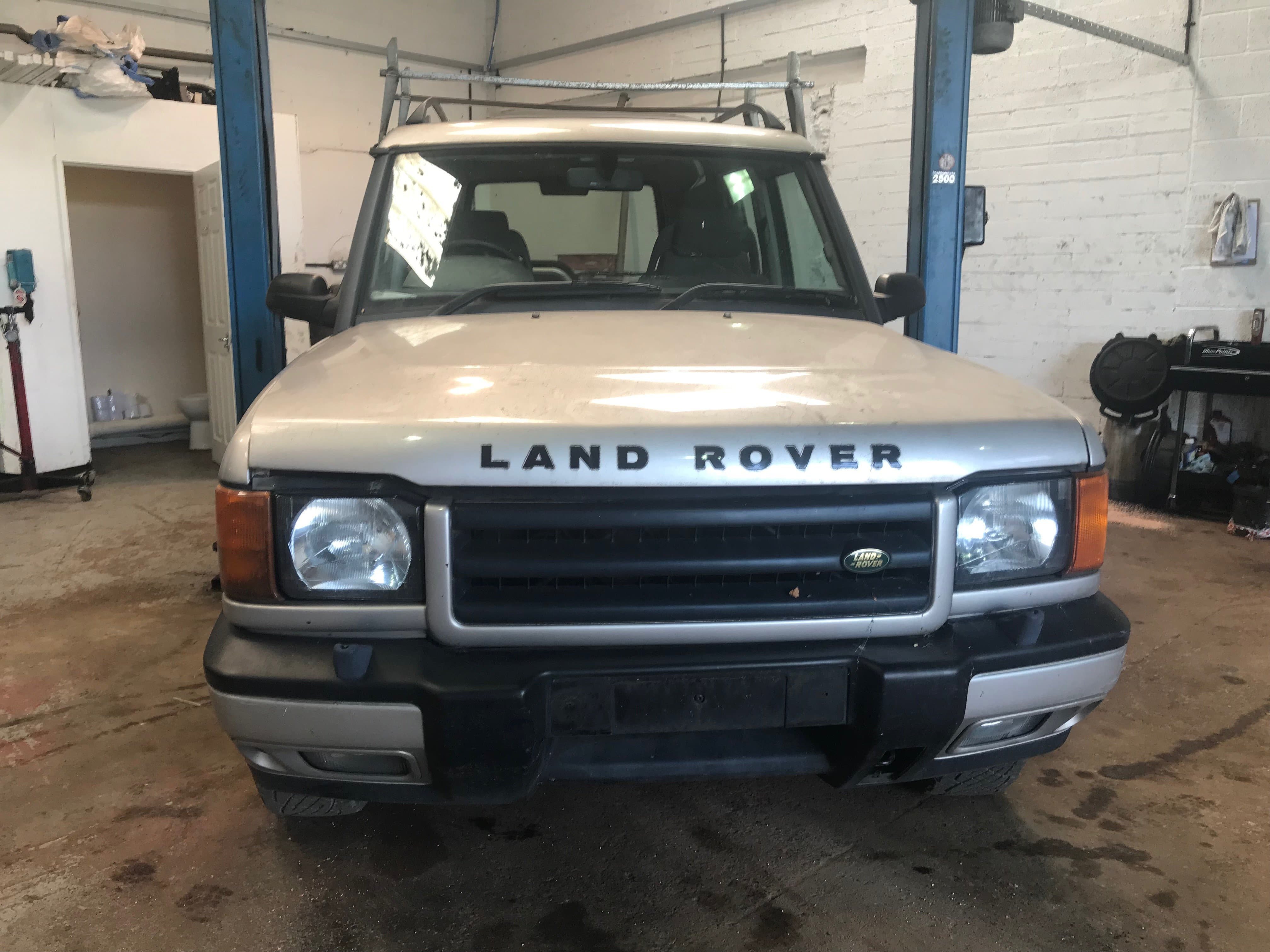2000 LAND ROVER DISCOVERY 2 - 2.5L TD5 ES MANUAL ...