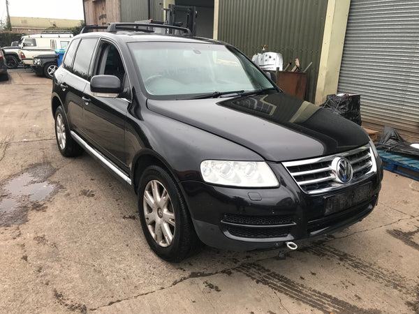 CURRENTLY BREAKING... 2005 VOLKSWAGAN TOUAREG  -  3.0 V6 TDi SPORT DIESEL AUTO BLACK